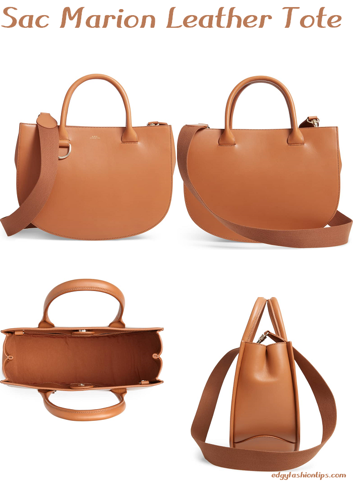 Sac Marion Leather Tote