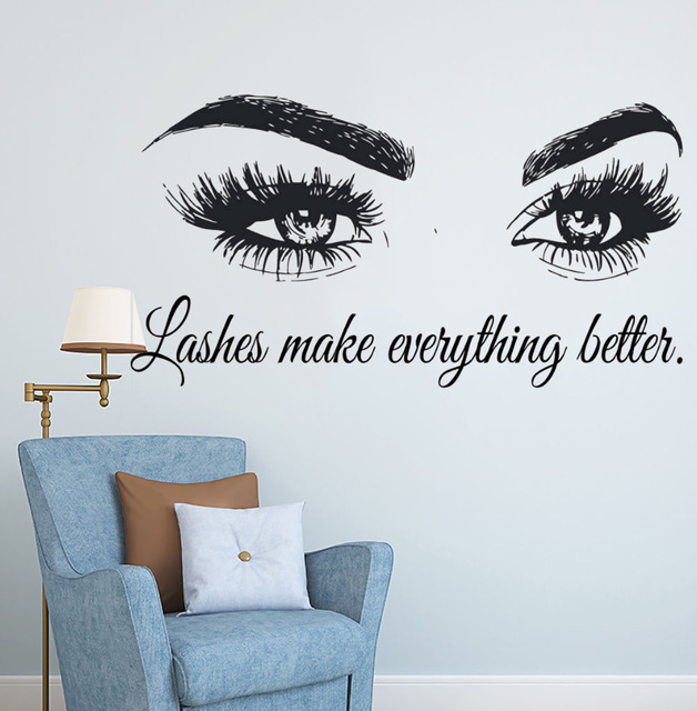 eyelashes quote
